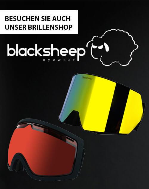 Besuchen Sie auch unser Brillenshop - Blacksheep Skibrillen